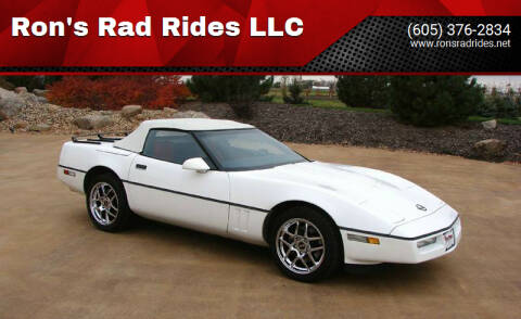 1989 Chevrolet Corvette for sale at Ron's Rad Rides LLC in Elk River MN