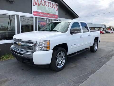 2011 Chevrolet Silverado 1500 for sale at Martins Auto Sales in Shelbyville KY