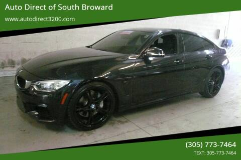 2015 BMW 4 Series for sale at Auto Direct of South Broward in Miramar FL