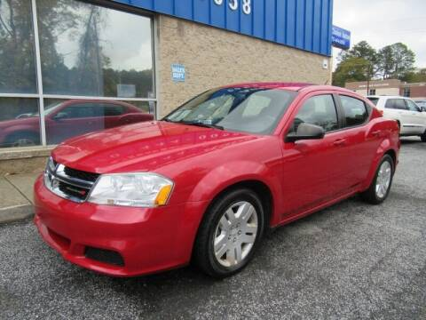 2014 Dodge Avenger for sale at Southern Auto Solutions - 1st Choice Autos in Marietta GA
