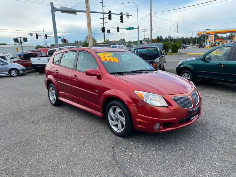 2006 Pontiac Vibe for sale at Low Auto Sales in Sedro Woolley WA