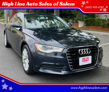 2015 Audi A6 for sale at High Line Auto Sales of Salem in Salem NH