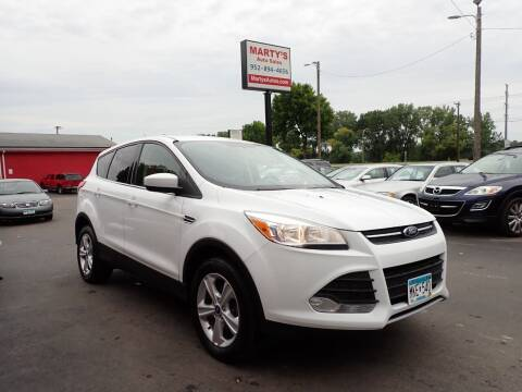 2013 Ford Escape for sale at Marty's Auto Sales in Savage MN