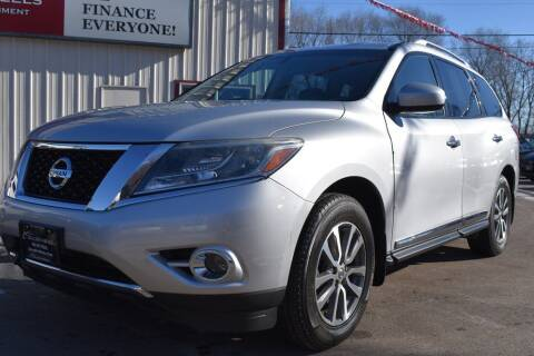 2014 Nissan Pathfinder for sale at Dealswithwheels in Inver Grove Heights/Hastings MN