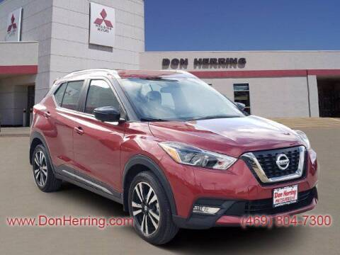 2019 Nissan Kicks for sale at DON HERRING MITSUBISHI in Irving TX