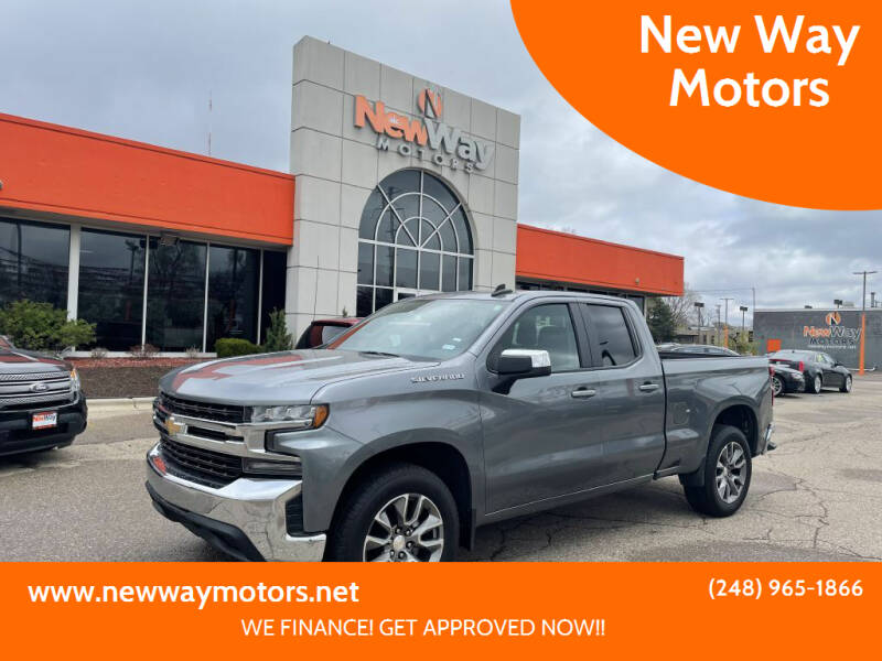 2020 Chevrolet Silverado 1500 for sale at New Way Motors in Ferndale MI