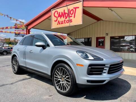 2020 Porsche Cayenne for sale at Sandlot Autos in Tyler TX