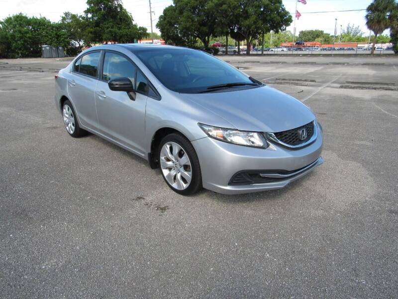 2015 Honda Civic for sale at United Auto Center in Davie FL