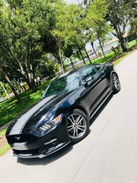 2016 Ford Mustang for sale at IRON CARS in Hollywood FL