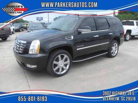 2013 Cadillac Escalade for sale at Parker's Used Cars in Blenheim SC