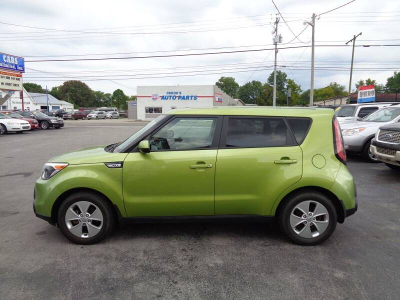 2015 Kia Soul for sale at Cars Unlimited Inc in Lebanon TN
