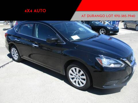 2017 Nissan Sentra for sale at 4X4 Auto in Cortez CO