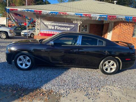 2012 Dodge Charger for sale at American Auto in Rayville LA