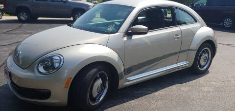 2012 Volkswagen Beetle for sale at PEKARSKE AUTOMOTIVE INC in Two Rivers WI