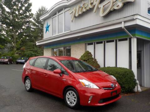 2012 Toyota Prius v for sale at Nicky D's in Easthampton MA