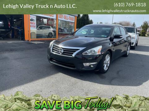2014 Nissan Altima for sale at Lehigh Valley Truck n Auto LLC. in Schnecksville PA