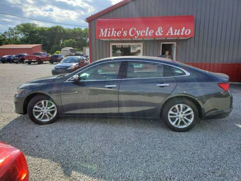 2017 Chevrolet Malibu for sale at MIKE'S CYCLE & AUTO in Connersville IN
