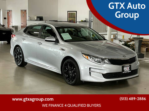2017 Kia Optima for sale at GTX Auto Group in West Chester OH