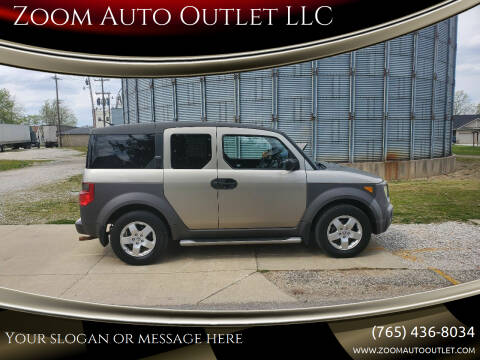 2004 Honda Element for sale at Zoom Auto Outlet LLC in Thorntown IN