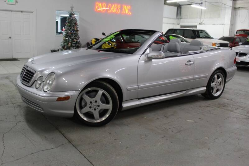 2003 Mercedes-Benz CLK for sale at R n B Cars Inc. in Denver CO