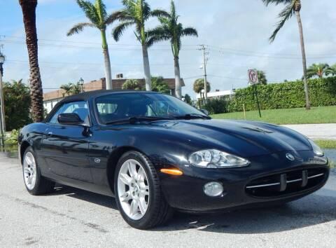 2002 Jaguar XK-Series for sale at VE Auto Gallery LLC in Lake Park FL