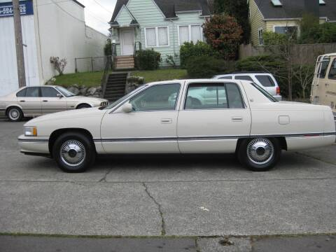 1995 Cadillac DeVille for sale at UNIVERSITY MOTORSPORTS in Seattle WA