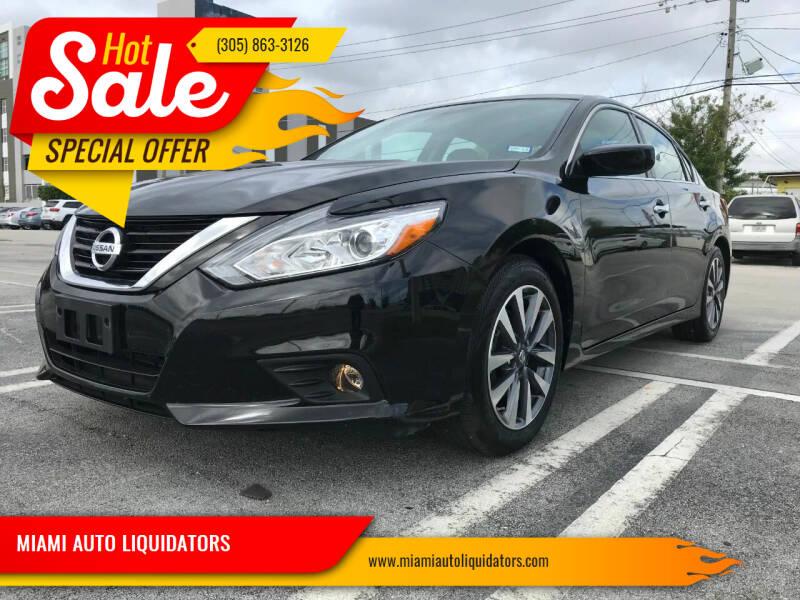 2017 Nissan Altima for sale at MIAMI AUTO LIQUIDATORS in Miami FL