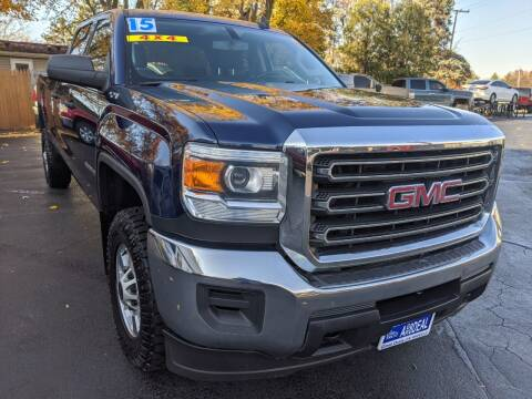 2015 GMC Sierra 2500HD for sale at GREAT DEALS ON WHEELS in Michigan City IN