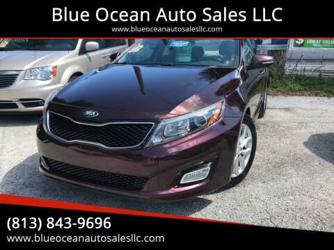 2014 Kia Optima for sale at Blue Ocean Auto Sales LLC in Tampa FL