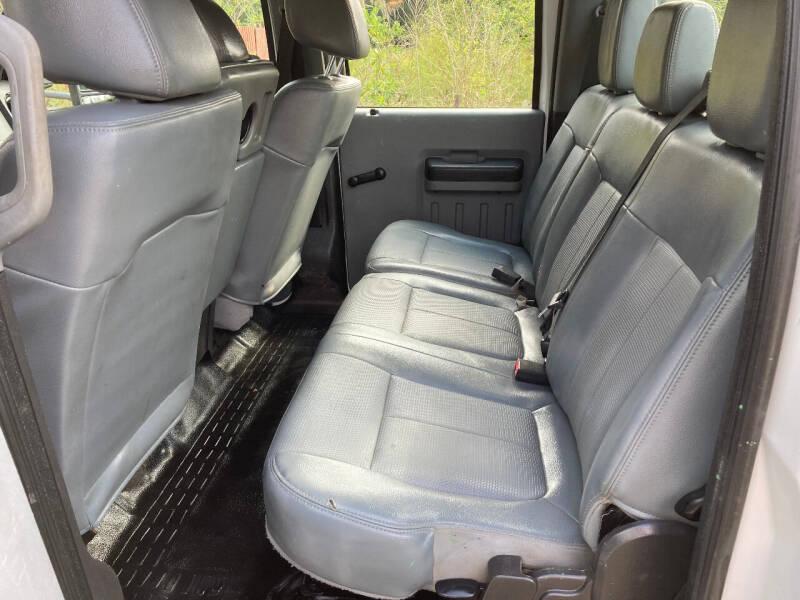 2014 Ford F-350 Super Duty 4x4 XL 4dr Crew Cab 8 ft. LB SRW Pickup - Port Orange FL