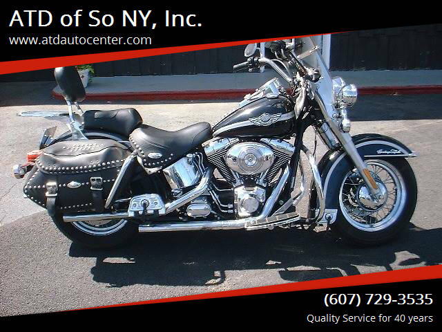 2003 Harley-Davidson Heritage Soft Tail for sale at ATD of So NY, Inc. in Johnson City NY