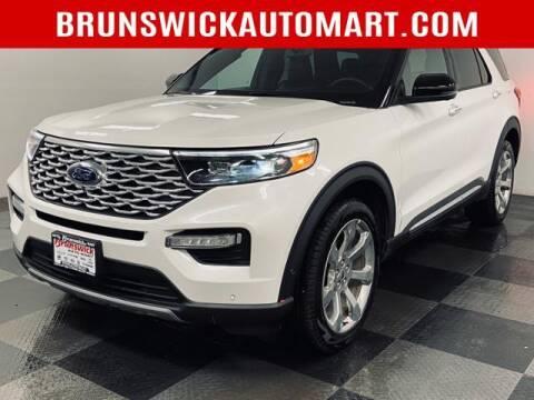 2020 Ford Explorer for sale at Brunswick Auto Mart in Brunswick OH