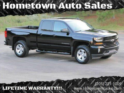 2017 Chevrolet Silverado 1500 for sale at Hometown Auto Sales - Trucks in Jasper AL
