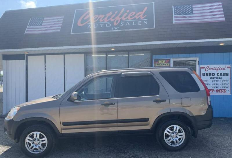 2004 Honda CR-V for sale at Certified Auto Sales, Inc in Lorain OH