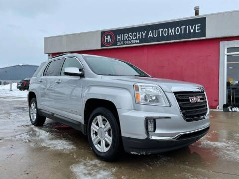 2016 GMC Terrain for sale at Hirschy Automotive in Fort Wayne IN