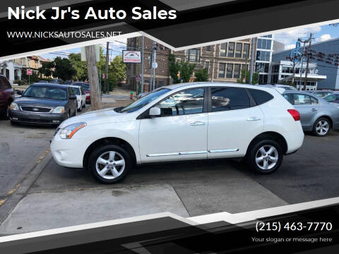 2013 Nissan Rogue for sale at Nick Jr's Auto Sales in Philadelphia PA