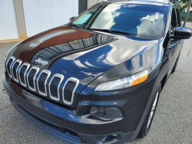 2015 Jeep Cherokee for sale at Atlanta's Best Auto Brokers in Marietta GA
