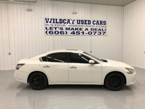 2013 Nissan Maxima for sale at Wildcat Used Cars in Somerset KY
