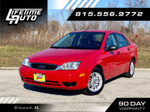 2007 Ford Focus for sale at Lifetime Auto in Elwood IL
