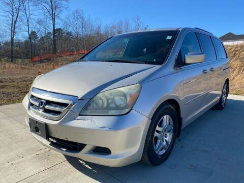 2006 Honda Odyssey for sale at el camino auto sales in Gainesville GA