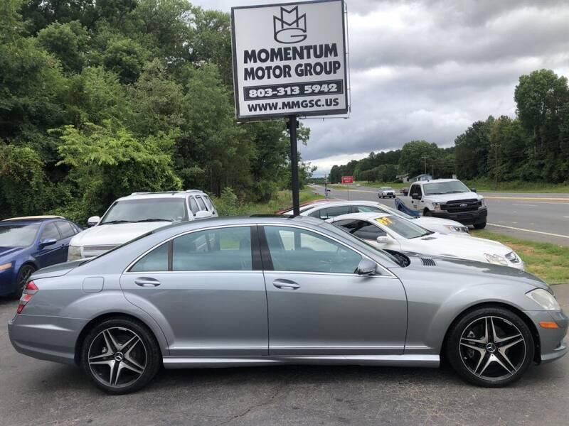 2008 Mercedes-Benz S-Class for sale at Momentum Motor Group in Lancaster SC