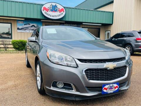 2014 Chevrolet Malibu for sale at JC Truck and Auto Center in Nacogdoches TX