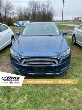 2018 Ford Fusion for sale at COYLE GM - COYLE NISSAN in Clarksville IN