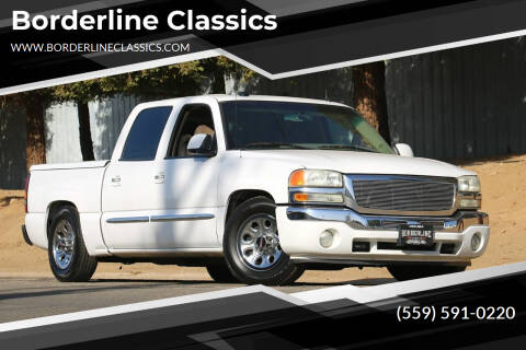 2005 GMC Sierra 1500 for sale at Borderline Classics in Dinuba CA