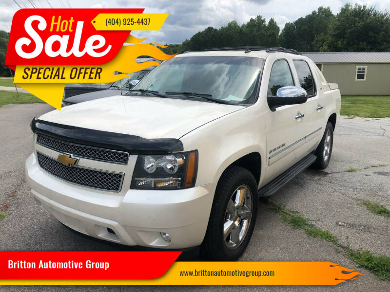 2012 Chevrolet Avalanche for sale at Britton Automotive Group in Loganville GA