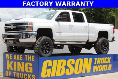2019 Chevrolet Silverado 2500HD for sale at Gibson Truck World in Sanford FL