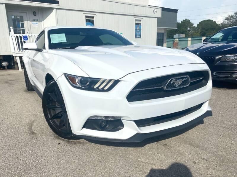 2015 Ford Mustang for sale at KAYALAR MOTORS in Houston TX