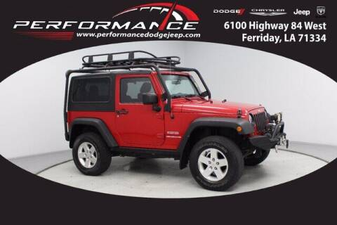 2011 Jeep Wrangler for sale at Auto Group South - Performance Dodge Chrysler Jeep in Ferriday LA