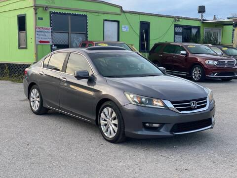 2014 Honda Accord for sale at Marvin Motors in Kissimmee FL