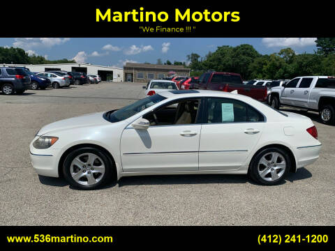 2006 Acura RL for sale at Martino Motors in Pittsburgh PA